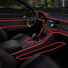 Car Interior Led Lights Red 2m Red 12v Led Car Auto Interior Decorative Atmosphere