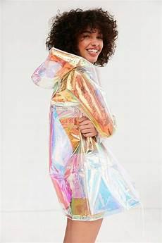 Light Summer Raincoat Holographic Raincoat S U M M E R S P R I N G In 2019