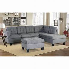 shop bright designs 3 sectional sofa with