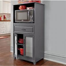 microwave storage with glass door cabinet ginny s