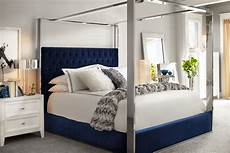 king canopy bed blue american signature furniture