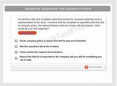 Situational Questions And Answers Administrative Situational Judgement Test Preparation