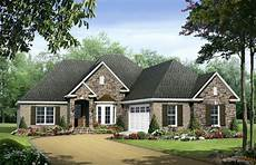 Best Single Story Floor Plans European Country Style One Story Plans The House Designers
