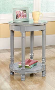 table accents 2 inspired accents gray modern side end tables pair
