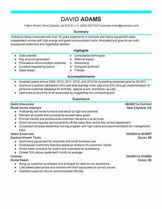Finish Line Resume Unforgettable Sales Associate Resume Examples To Stand Out