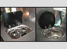 European Style RV Cooktop & RV Sink