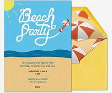 Beach Party Invitation Wording Trips And Getaways Online Invitations Evite Com