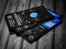 Dj Business Cards Digital Dj Business Card By Vinyljunkie Graphicriver