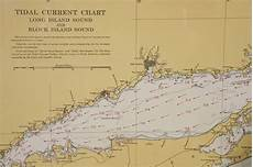 1960s Set Of Six Long Island Tidal Current Charts Or Maps