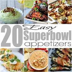 20 easy superbowl appetizers superbowl recipes