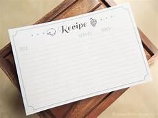 Recipe Cards Printable Free Printable Recipe Cards