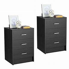 top 10 black nightstand set of 2 end tables moto faceton