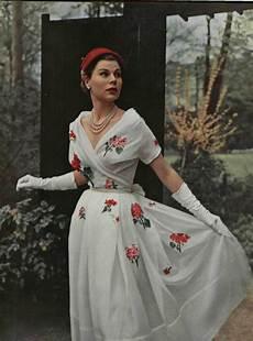 mode klassisk 1953 l officiel de la mode 1950s fashion fashion
