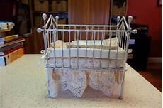 bashette ironworks baby doll crib ooak doll beautiful