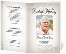 Funeral Program Templates Free 21 Free Free Funeral Program Template Word Excel Formats