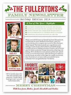 Holiday Family Newsletter Templates 11 Best Images About Christmas Family Newsletter On