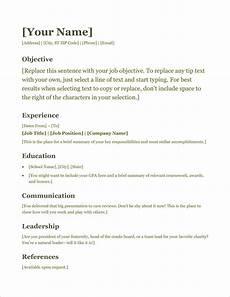 Cv Simple 45 Free Modern Resume Cv Templates Minimalist Simple