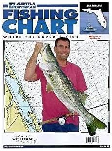 Florida Sportsman Charts Amazon Com Florida Sportsman Fishing Chart 5 Sebastian