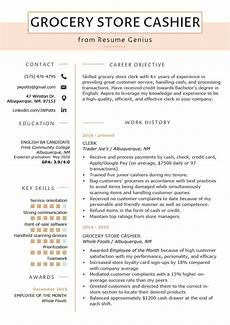 Cashier Resume Sample Grocery Store Resume Grocery Store Cashier Resume Sample