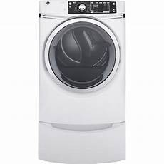 Lighting A Gas Dryer Ge 8 3 Cu Ft 120 Volt White Stackable Gas Vented Dryer