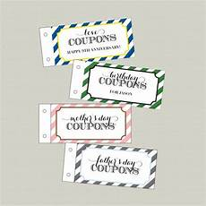 Customized Coupons Customized Coupon Book Dy Printable Printables Love
