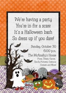 Halloween Invites Slightly Askew Designs Halloween Party