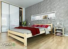 new wooden solid untreated pine 5ft king size bedframe