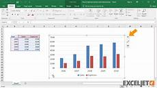 Chart Elements List Excel Excel Tutorial How To Add And Remove Chart Elements