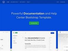 Documentation Template Guidebook Online Documentation Template Bootstrap Themes