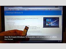 How To Easily Create Windows 10 Bootable USB Drive   YouTube