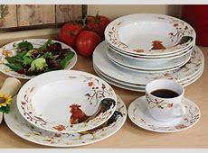 Rooster Dinnerware Set & Steubenville Rooster Dinnerware