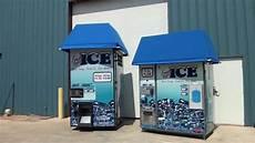 Ice Vending Machines Kooler Ice Vending Machines Im600xl Vs Im1000 Youtube