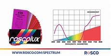 Rosco Color Chart How To Properly Choose A Color Filter Rosco Spectrum