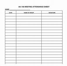 Sample Attendance Sheets Free 18 Attendance Sheet Templates In Pdf Ms Word Excel