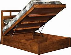 storage lift beds made by honey run woodcraft