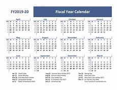 2020 Fiscal Year Calendar 2019 Fiscal Year Calendar Template Uk Free Printable