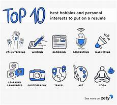 Hobby Examples List Of Hobbies And Interests For Resume Amp Cv 20 Examples
