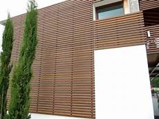 rivestimento esterno in legno pareti in legno foto design mag