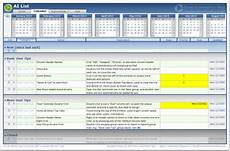 Action Item Template Excel Ai List Excel Template Action Item List Free Download