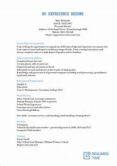 Resume For No Job Experience Sample Entry Level Resume Samples Examples Template To Find The