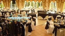 black and white wedding theme with some heavy metal fun