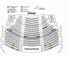 Cms Seating Chart Seating Chart 171 Mishler Theatre