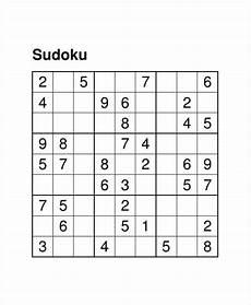 Sudoku Templates Printable Sudoku Puzzle 7 Free Pdf Documents Download