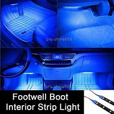 Best Led Footwell Lights 12 Quot Blue 12smd Led Interior Exterior Footwell Dash