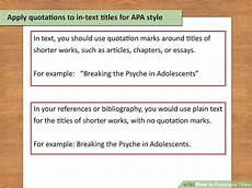 Punctuation Of Titles 3 Ways To Punctuate Titles Wikihow