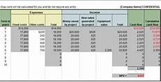 Net Present Value Calculator Professional Net Present Value Calculator Excel Template