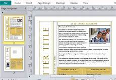 Free Microsoft Office Newsletter Templates Free Newsletter Templates