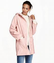 Light Pink North Face Rain Jacket Light Pink Raincoat In Water Repellent Functional Fabric