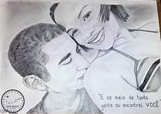 desenho realista de casal no elo7 rota criativa 72a6ae
