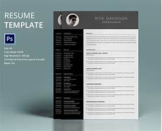 Free Cv Design Templates Free 7 Resume Template Designs In Psd Ms Word